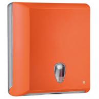 Диспенсер для рушників Z-складання помаранчевий, арт. 706AR