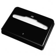 Диспенсер для одноразовых покрытий на унитаз черный, арт. 344088