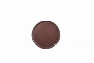 Поднос коричневый, 28 см, арт. KN-А8-620С