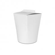 Упаковка для лапши белая, V - 750 мл