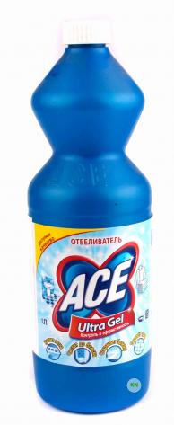 Пятновыводитель ACE, для белого, 1000 мл.