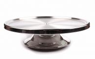 Підставка для торта на низькій ніжці, d - 30 см