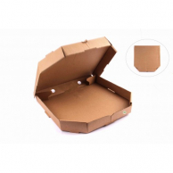 Коробка для пиццы бурая, d - 35 см