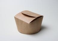 Упаковка для лапши крафтовая, V - 1200 мл